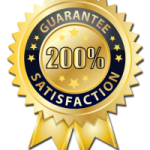 200% satisfaction guaranteed