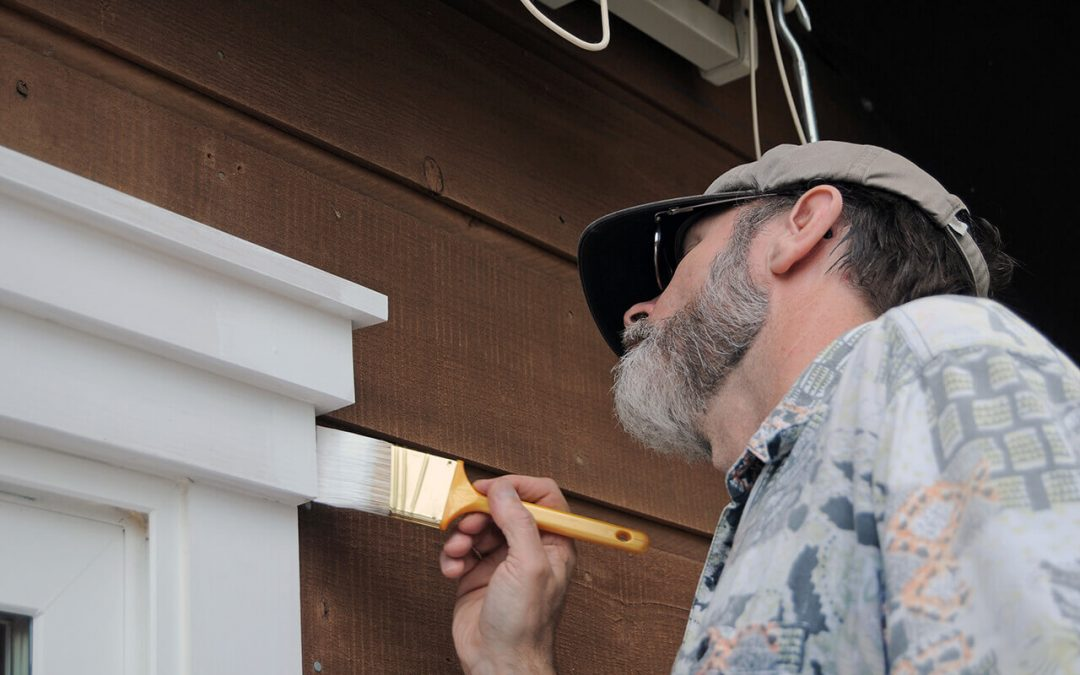 fall home improvement projects include painting exterior trim